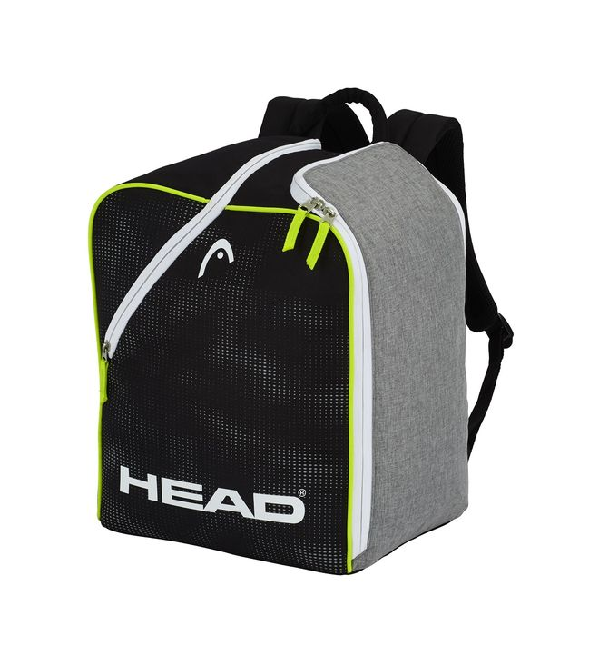 Ski Boot Backpack Antracite/Grey-Neon Yellow